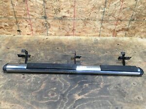 2010 JEEP LIBERTY LEFT DRIVER SIDE STEP NERF BAR RUNNING BOARDS CHROME OEM+