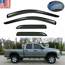 Vent Shade Window Visors Rain Guards Shield For Dodge Ram 1500 2500 3500 02-08