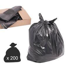 200 Black Refuse Sacks 120l - Heavy Duty