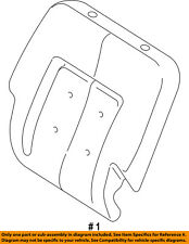 FORD OEM Rear Seat-Seat Cover-Top Back 2L1Z7866800AT