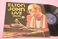 ELTON JOHN LP LIVE 17-11-70 UK RESS NM !!!!!!!!!!!!!!!  TOOPPPPP LAMINATED COVER