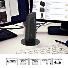 Wavlink USB 3.0 Universal Dual Display Docking Station&Vertical Aluminum S