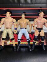 WWE JOHN CENA, RANDY ORTON & EVAN BORUNE MATTEL SERIES WRESTLING FIGURE