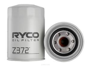 Ryco Oil Filter Z372 fits Mitsubishi Pajero 2.8 D (NH,NJ,NK,NL), 2.8 TD (NH,N...