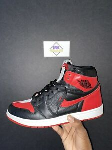 AIR JORDAN 1 RETRO HIGH HOMAGE TO HOME SIZE 10.5 NON NUMBERED