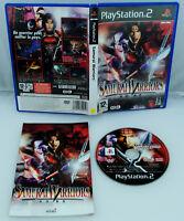 Jeu SAMURAI WARRIORS sur Playstation 2 PS2 CD REMIS A NEUF VF PAL