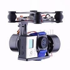 2 Axis CNC Aluminum Brushless Camera Mount Gimbal Kit For Gopro DJI Phantom FPV