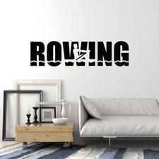 Vinyl Wall Decal Rowing Crew Sport Rower Decor Art Stickers Mural (ig5793)