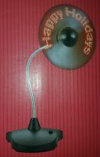 Desktop Mini Flexible Gooseneck LED Fan For PC Notebook Happy Holidays Display