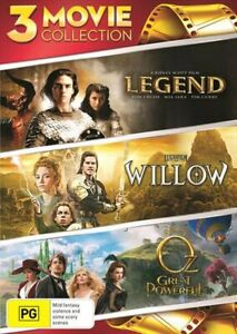 Legend / Willow / Oz - The Great And Powerful DVD