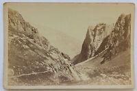 Verso le Pic Du Midi Di Bigorre Vintage Albumina 1880