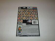 Gi Joe Vintage 1987 MUSKRAT UNCUT FULL FILE CARD