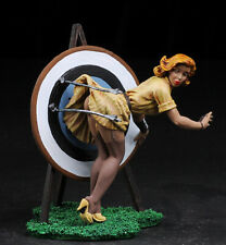The Missing Arrow , Pin-Up, Women 80mm, Painted Tin Toy Soldiers