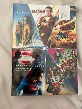 Dc 7-Film Collection DVD Shazam, Batman, Superman, Aquaman.  Brand New. Free Shi
