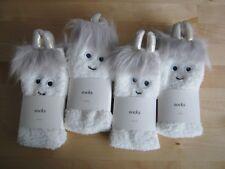pack of 4 children's footie socks