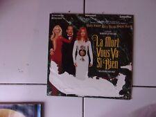 Laserdisc LA MORT VOUS VA SI BIEN ( Bruce Willis / Meryl Streep) rare!!