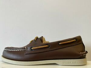 Sperry Top Sider Leather Boat Shoes Mens UK 7.5 REF M1337+