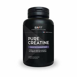 EAFIT Pure Créatine - 90 Gélules - Créatine Monohydrate 3 000 Mg - Explosivit...
