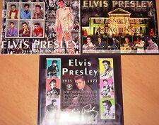 GUINEA 2002 Klb 3764-81 2125-27 Elvis Presley Musician Musiker Music Musik MNH