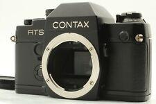 【 EXCELLENT+++++ 】 Contax RTS II QUARTZ black Body SLR Film Camera from JAPAN