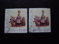 Portugal - Stamp Yvert and Tellier N°1528 X2 Obl (A29) Stamp