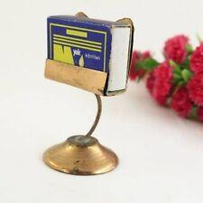 Handmade Embossed Copper Matchbox Holder.Vintage Match Box Holder.