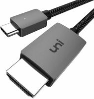 USB C to HDMI Cable 4K, uni Type C Cable(Thunderbolt 3 1.8m