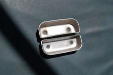 1955-56 Chrysler / Desoto Arm Rest Metal Pull Cups..NICE Original Pair