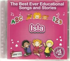 THE BEST EVER EDUCATIONAL SONGS & STORIES PERSONALISED CD - ISLA - ABC 4 ME