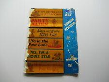 Vintage Russ Alf 6 Different Unused Bumper Sticker Original Store Display Lot