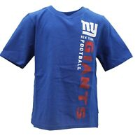 New York Giants Official NFL Team Apparel Youth Kids Size T-Shirt New with Tags