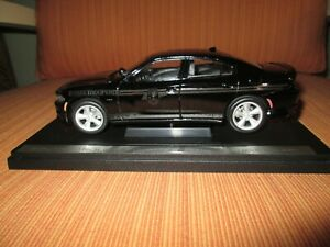 """Custom 1/27 Welly South Carolina HP """"Ghost Car"""" Dodge Charger w/ Display case"""