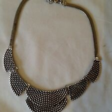 basket weave design necklace,Equilibrium,new,rrp £25.99