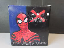 NOS Marvel Comics EARTH X Spider-Girl Resin Bust Limited Edition w Box Sealed