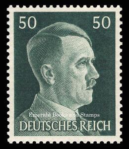 EBS Germany 1941 - Hitler Head - 50 Pfennig - Hitlerkopf - Michel 796 MNH**