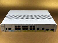 Cisco Catalyst (WS-C3560CX-12PC-S) 12-Ports Desktop Ethernet Switch