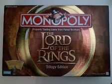 MONOPOLY The Lord of the Rings Trilogy Edition Board Game Complete 41603