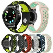For Samsung Galaxy Watch 42mm Silicone Sports Strap Breathable Band
