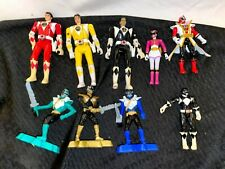 Power Rangers Figure Lot: Flip Heads, McDonalds and more.