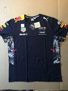 Red Bull Racing Aston Martin F1 Team Puma T Shirt XL W/Tags Formula 1 2017?
