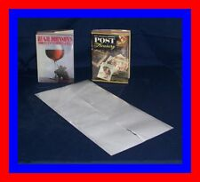 "25 pack - 12"" x 24"" Brodart ARCHIVAL Fold-on Book Jacket Covers - Super Clear"