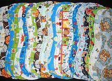 burp cloth boys double flannel handmade group 1a