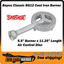 Bayou Classic BG12 High Pressure Cast Iron Burner for LP Propane Gas Cookers