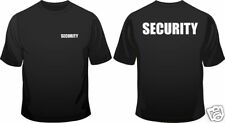 Security Staff Door Man Club In All Sizes Crew Neck Men Loose Fit Cotton T-Shirt