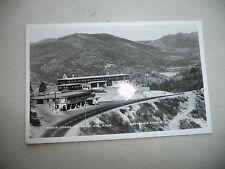 REAL PHOTO POSTCARD NYACK LODGE EMIGRANT GAP CALIFORNIA DONNER PASS PLACER COUN