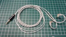 6N OFHC Silver Plated upgrade cable for UE triple fi 10 SF 3 5 5EB