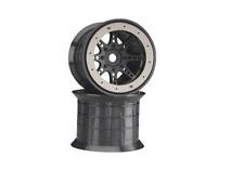 AX8042 Axial 8-Spoke Oversize Beadlock Wheel Black (2)