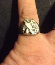 Vintage Eagle Ring WWI-WWII Walking Liberty Half Dollar Patriotic
