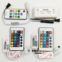 SP103E SP105E RGB RGBW WiFi Remote Controller For LED Strip 5050 WS2811 WS2812B