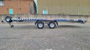 Car Transporter Recovery Tilt Bed Trailer Twin Axle 4,5m x 2.10 2700 kg gvw